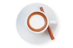 Coffee top view Stock Photos