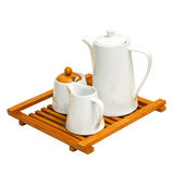 Coffee tray Stock Photography