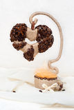 Coffee Tree of love Stock Photo