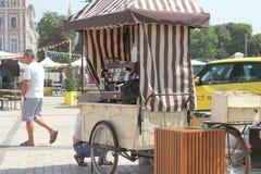 Coffee truck. City Fair Stock Photos