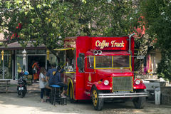 Coffee Truck. Royalty Free Stock Photo