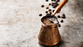 Coffee in turk Royalty Free Stock Images