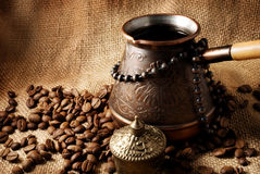 Coffee turk. Stock Photo