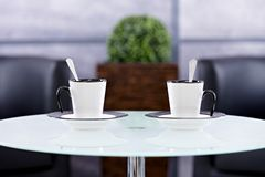 Coffee for two Royalty Free Stock Photo