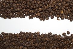 Coffee two lines texture Stock Photos