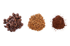 Coffee variation. Royalty Free Stock Images