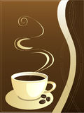 Coffee, vector Royalty Free Stock Images