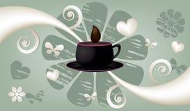 Coffee vector banner Stock Photo