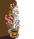 Coffee vector banner Royalty Free Stock Photography