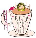Coffee vector design Stock Photo