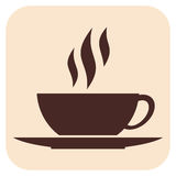 Coffee vector icons Royalty Free Stock Photo