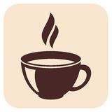 Coffee vector icons Stock Image