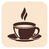 Coffee vector icons Stock Images