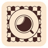 Coffee vector icons Royalty Free Stock Photography