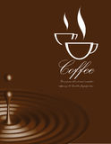 Coffee vector illustration Royalty Free Stock Photos