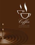Coffee vector illustration Royalty Free Stock Photos