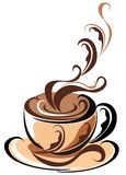 Coffee. Vector illustration  Stock Images