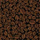 Coffee vector seamless Royalty Free Stock Photography