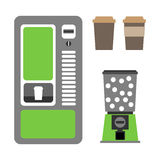 Coffee vending Royalty Free Stock Image