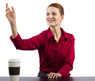 Coffee Vendor Royalty Free Stock Images