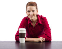 Coffee Vendor Royalty Free Stock Image