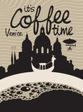 Coffee venice Stock Photography