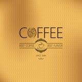 Coffee vintage background Stock Image