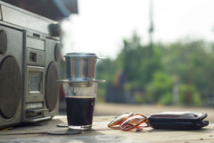 Coffee,vintage,drink Stock Photography