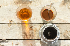 Coffee,vintage,drink Royalty Free Stock Images