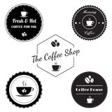 Coffee vintage label Royalty Free Stock Images