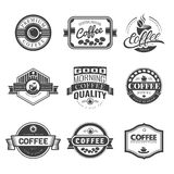 Coffee Vintage Logo Stock Photo