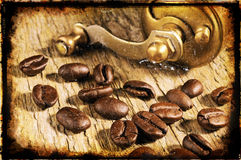 Coffee. Vintage still-life royalty free stock image