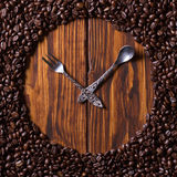 Coffee watches Royalty Free Stock Photo
