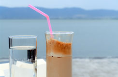Coffee and water Royalty Free Stock Images