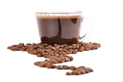 Coffee way Royalty Free Stock Photos