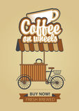 Coffee on wheels Stock Photos