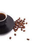 Coffee on white Stock Photography
