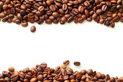 Coffee on white background Stock Photography