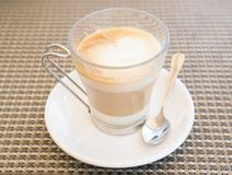 Coffee. In a white cup Royalty Free Stock Image