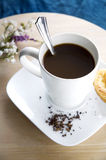 Coffee white cup royalty free stock image