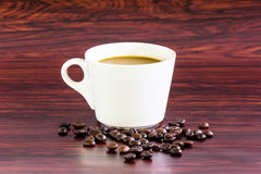 Coffee white cup Stock Images