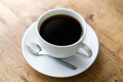 Coffee in white cup Royalty Free Stock Photos