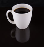 Coffee In White Mug III Stock Photos