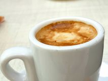 Free Coffee With Milk. Royalty Free Stock Image - 121417656
