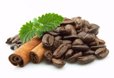 Coffee With Spices Royalty Free Stock Photos