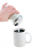 Coffee With Sugar Stock Photos