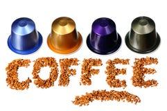 Free Coffee Word Royalty Free Stock Photo - 36520975