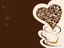 Coffee for your loved one. Vector illustration. Stock Photo