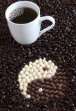 Coffee Zen Royalty Free Stock Images