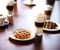 Coffeebar scene Royalty Free Stock Photo